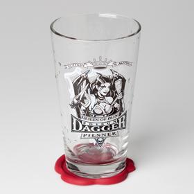 Queen of Pain Pint Glass and Coaster