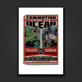 Tidehunter vs Kunkka