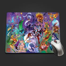 Watercolor Hero Mousepad
