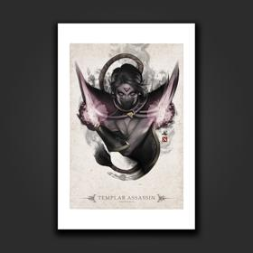 Templar Assassin Portrait