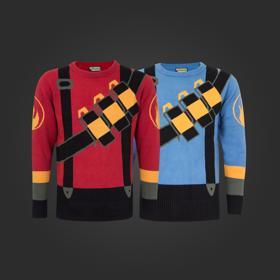 TF2 Pyro Holiday Sweater