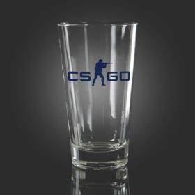 CS:GO Blue Pint Glass