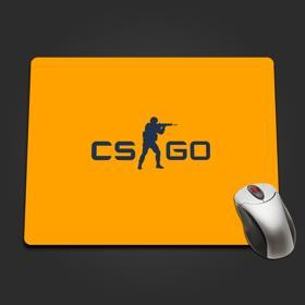 CS:GO Logo Mousepad Yellow